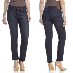 LUCKY BRAND Charlotte Rail Straight Leg Jeans Blue